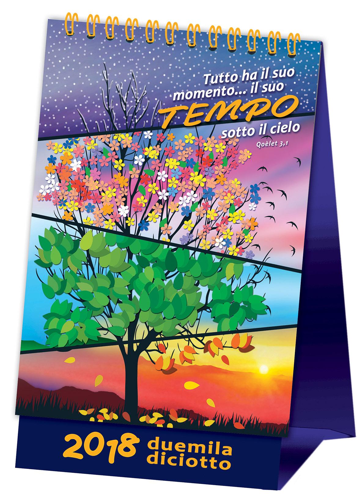 Calendario da tavolo 2018 'TEMPO'